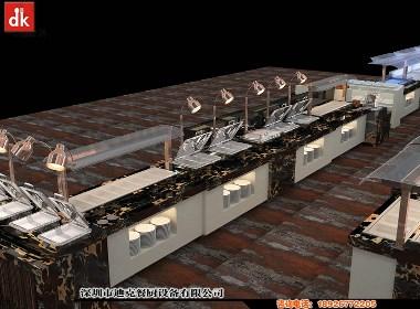 迪克森专业定制酒店设备餐厅自助餐台与设备