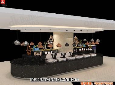 迪克设计定制自助餐台 移动自助功能餐台 自助餐台图片