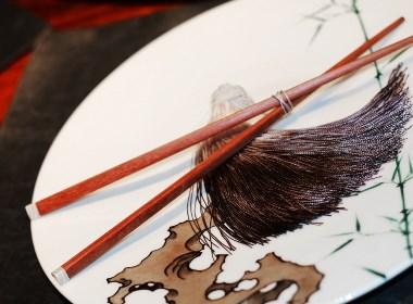 匠艺丨心贝木筷
