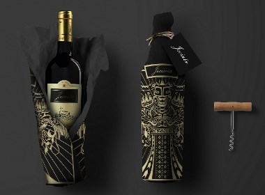 红酒礼盒包装设计