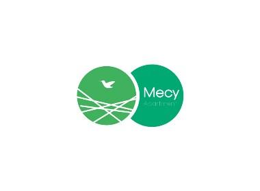 美栖MECY酒店公寓品牌形象标志logo设计