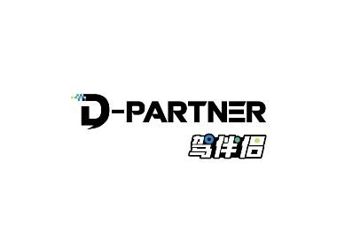 驾伴侣智能硬件车载品牌形象标志logo设计