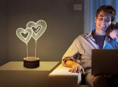 产品设计案例-木质创意3D灯-深圳工业设计公司