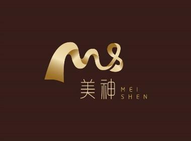美神商业购物中心品牌形象标志LOGO设计