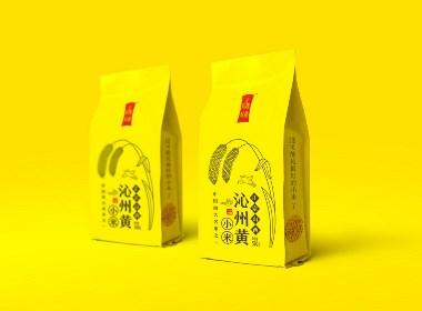 沁州黃小米包裝設計