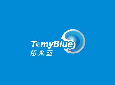 TomyBlue环境净化品牌形象标志LOGO设计