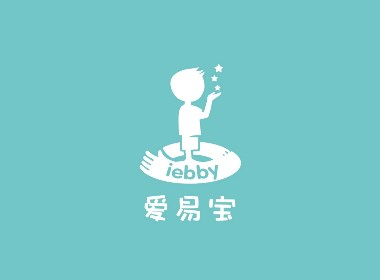 爱易宝APP校园管理品牌形象标志LOGO设计