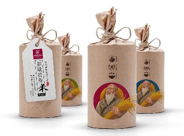 彭墩米业品牌策划系列案例