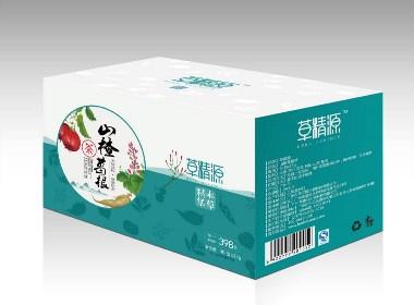 山楂葛根茶包装