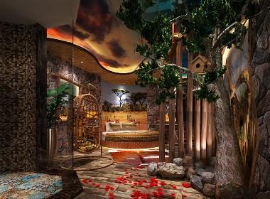 长沙8号公馆艺术主题酒店设计