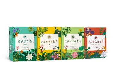 立方甲設計 | 老金磨方復方茶包裝設計