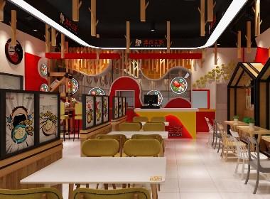 水饺店店面设计