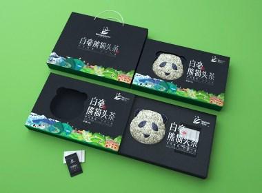 立方甲设计 | 白毫熊猫头茶