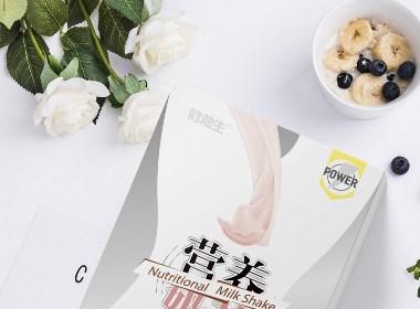 蛋白粉 奶昔 包装设计