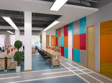 【联盟游戏】—成都办公室装修/成都办公室设计
