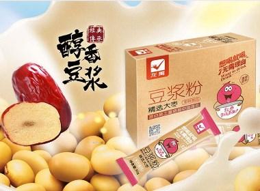龙禹豆粉包装设计