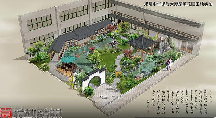 屋顶花园设计,郑州屋顶花园设计,屋顶花园设计效果图图片