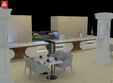 迪克森自助餐台设计 布菲台定制自助餐台设备 移动餐台设备定制厂家