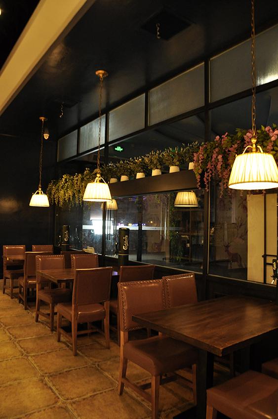鼎尚联合餐饮设计-圣多斯烤肉餐厅设计(厚街店)