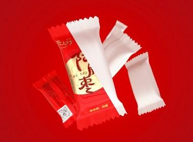 阿胶枣包装设计、包装渲染、包装效果图
