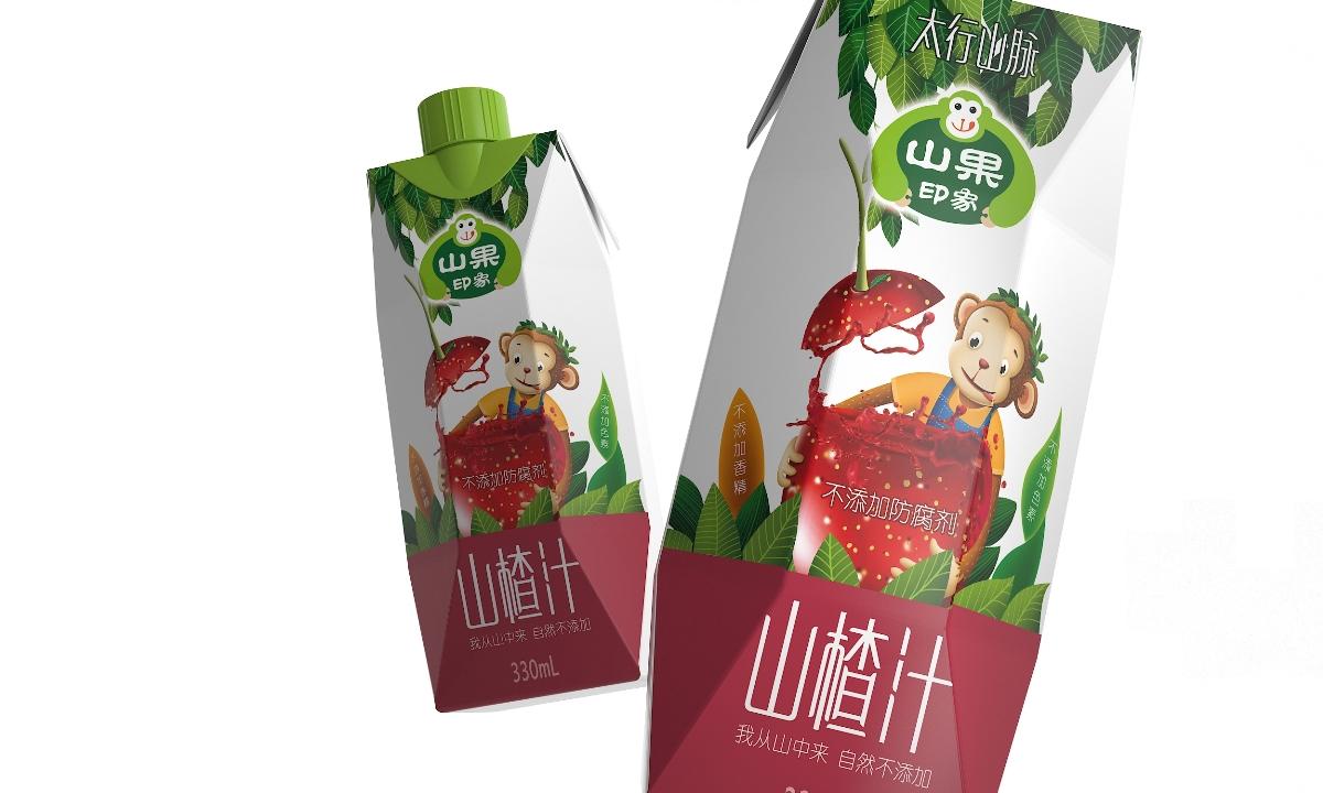 河南百芝源山果印象——徐桂亮品牌设计