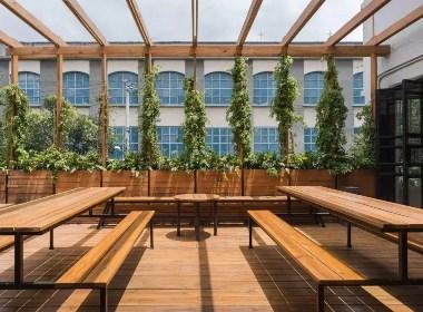 广州翰霖院深化设计——办公室装修设计,从狂野走向朝阳