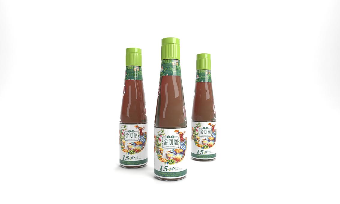金凤凰香油——徐桂亮品牌设计