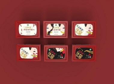 南道辣椒手绘包装一系列