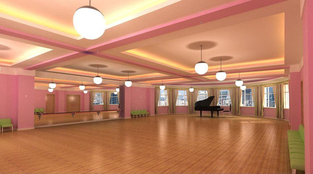 成都舞蹈工作室装修「卓巧」成都舞蹈工作室设计/舞蹈