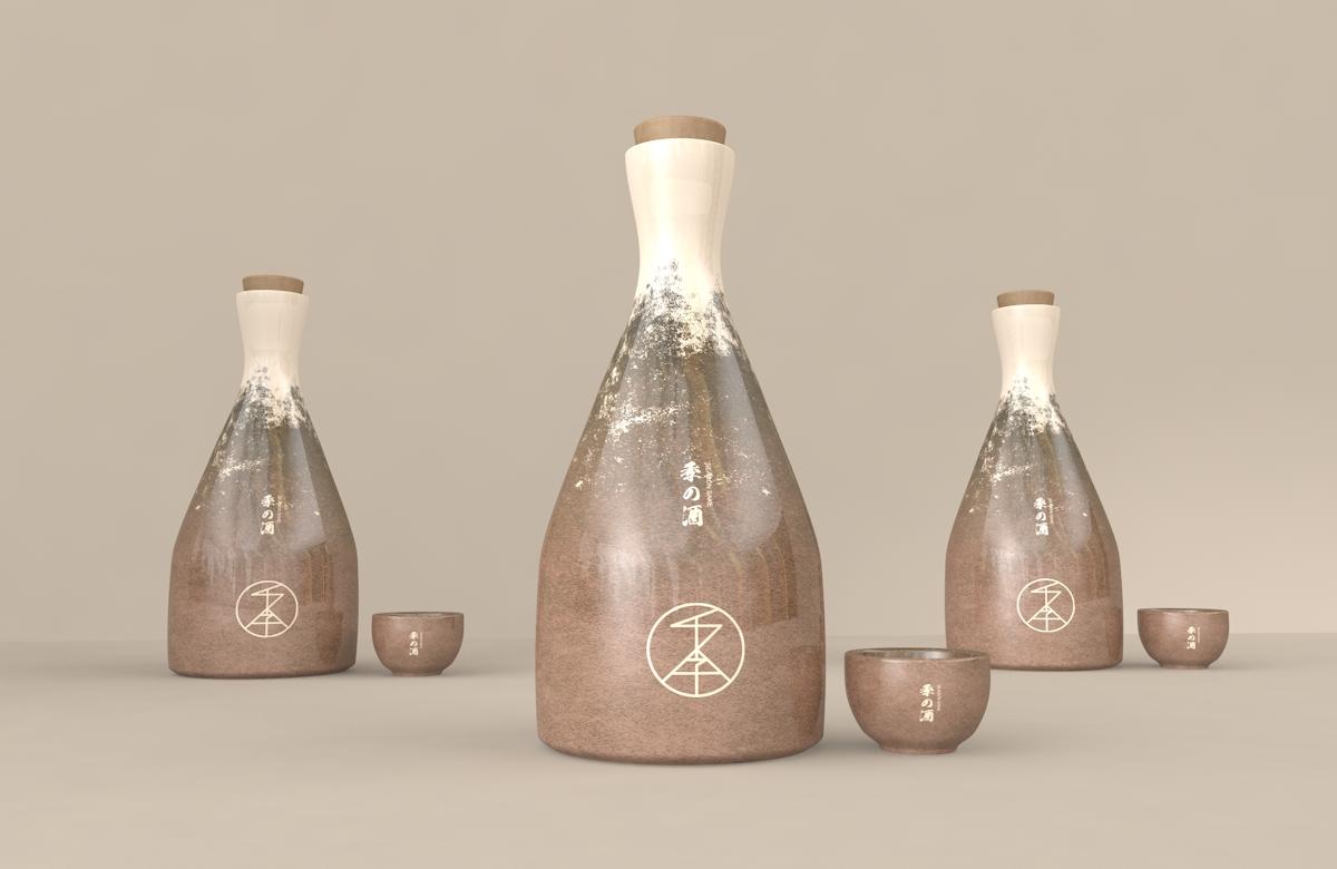 哈尔滨包装设计/四季的酒