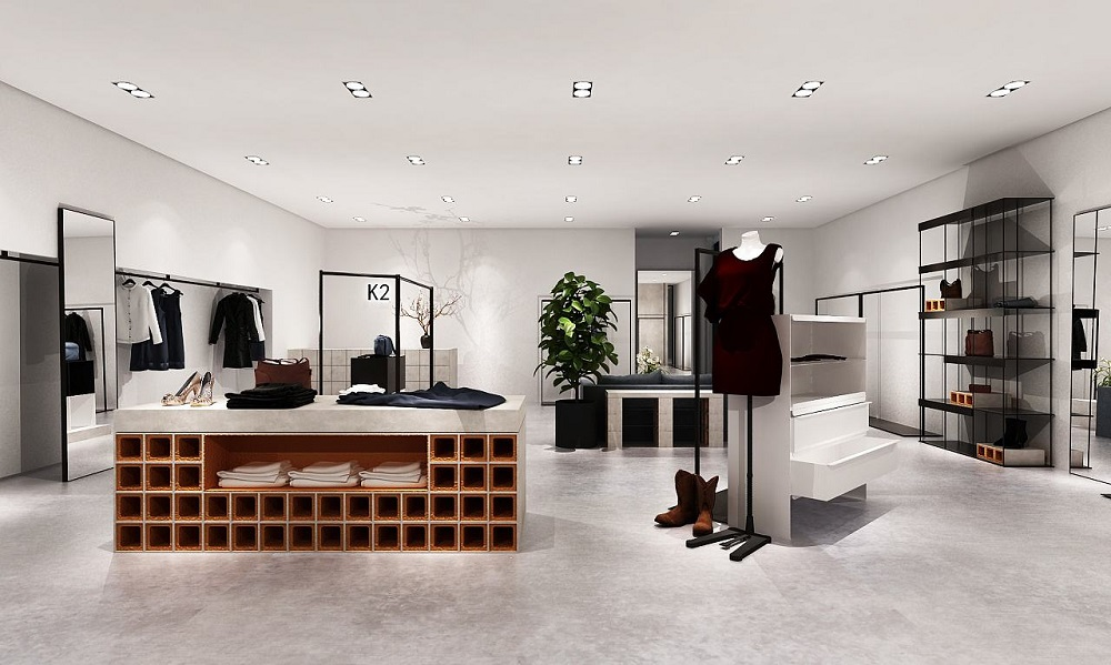 成都店铺装饰设计「卓巧」成都简约风格店设计装修