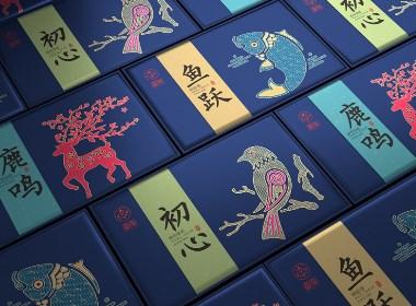 大米品牌设计 大米礼盒包装设计 高端大米包装设计