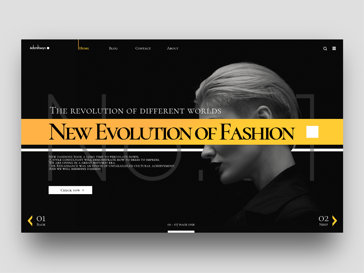 WEB DESIGN-网页设计
