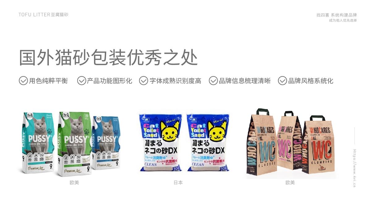 四喜設計-貓小左豆腐貓砂品牌包裝設計