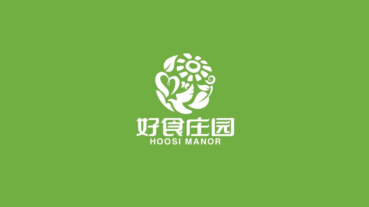 好食庄园logo及核桃仁包装设计