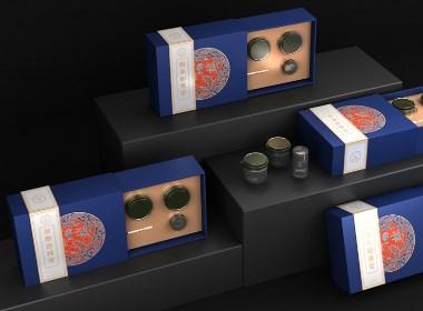 滋补养生品包装设计 特产礼盒包装设计 冬虫夏草包装设计