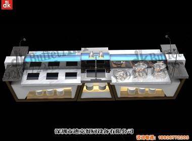 迪克森餐厨设备专业生产定制移动自助餐台厂家 主题餐厅装修布局规划