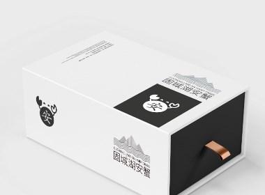 固城湖安蟹包装设计
