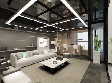 重庆江北嘴保利中心办公室设计——沐野