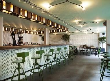 成都花园主题餐吧设计|浪漫而务实的餐吧|四川餐吧装修设计公司