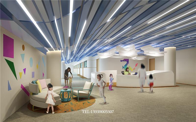 幼儿园接待大厅设计方案-蒙特梭利优秀幼儿园设计案例