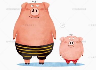 好鲜宜猪肉品牌VI设计