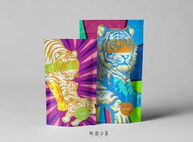 《大虎》火锅店插画设计 | 观盛合设计