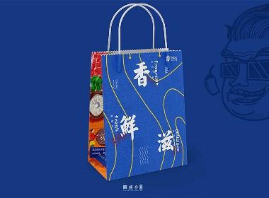 《香老坎》火锅店品牌全案设计 | 观盛合设计