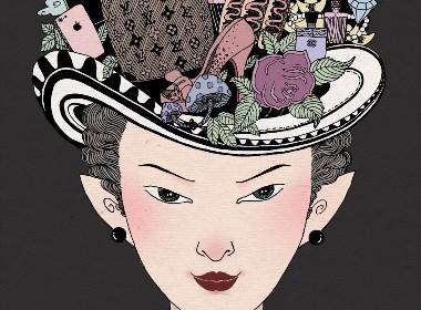 女人之魅-插画
