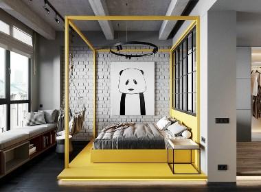 简单舒适的女性公寓 | cartelle design