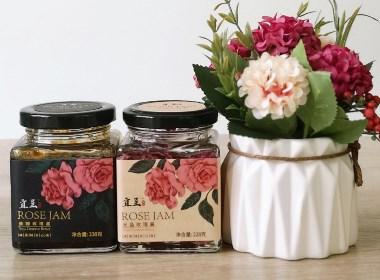 玫瑰花酱 包装设计
