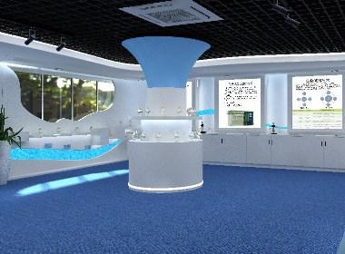 污水处理、工业环保公司的宣传物料设计及展厅效果图设计