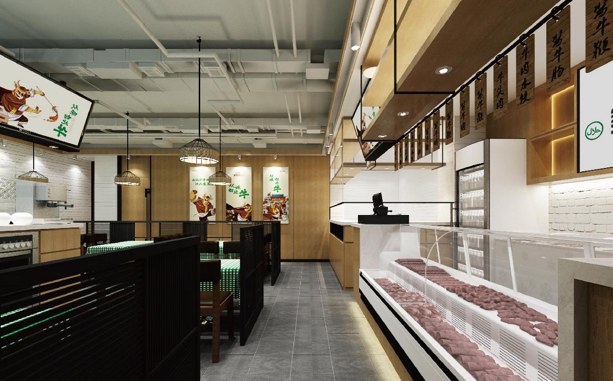 金记述志牛肉餐饮品牌全案设计