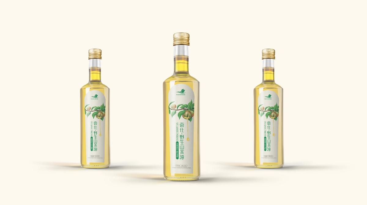山茶油包装-袁仕山茶油